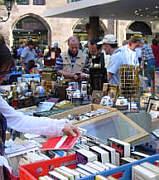 Bild vom Nürnberger Trempelmarkt Frühjahr 2006