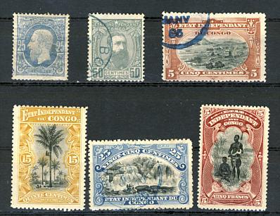 Briefmarken Belgische Kolonien
