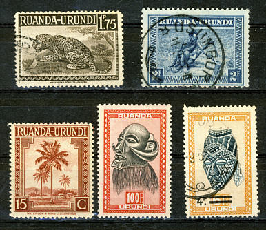Briefmarken Ruanda-Urundi