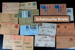 Briefe und Ganzsachen aus Deutschland und Spanien