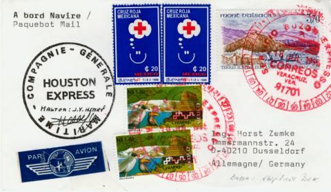 Halbierung Thomas Brief Halbiert St Humorvoll Briefmarken