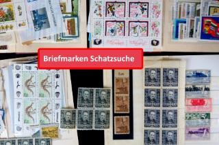 Briefmarken und Blöcke von der DDR, Österreich und dem Deutschen Reich