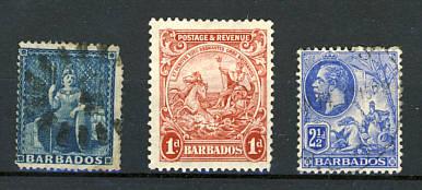 Briefmarken Barbados