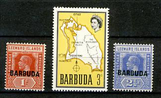 Briefmarken Barbuda