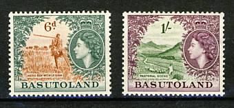 Briefmarken Basutoland