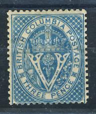 Briefmarken Britisch Columbia