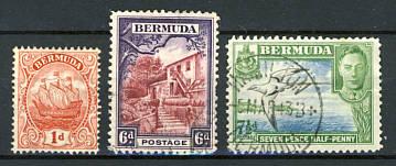 Briefmarken Bermuda