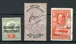 Briefmarken Betschuanaland