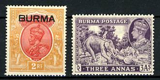 Briefmarken Birma