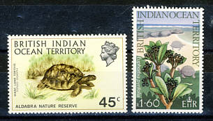 Briefmarken British Indian Ocean Territory