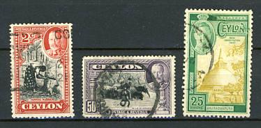 Briefmarken Ceylon
