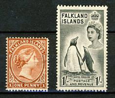 Briefmarken Falkland Inseln