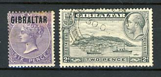 Briefmarken Gibraltar