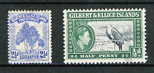 Briefmarken Gilbert und Ellice Inselnr
