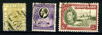 Briefmarken Gold Coast