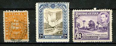 Briefmarken Guyana