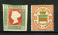 Briefmarken Helgoland