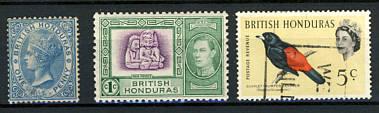 Briefmarken Britisch Honduras