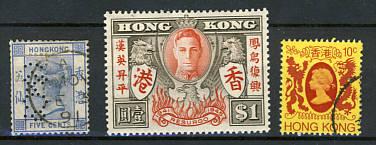 Briefmarken Hongkong