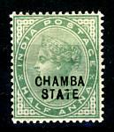 Briefmarken Indien Chamba