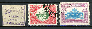 Briefmarken Indien Charkari