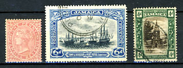 Briefmarken Jamaika