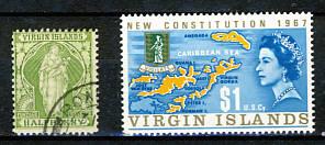 Briefmarken Jungferinseln