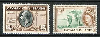 Briefmarken Kaiman Inseln