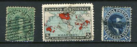 Briefmarken Kanada