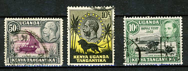 Briefmarken Kenya Uganda Tansania