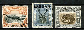 Briefmarken Labuan