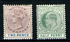 Briefmarken Lagos