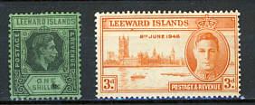 Briefmarken Leeward Inseln