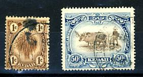 Briefmarken Malaysia Kedah