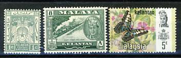 Briefmarken Malaysia Kelantan