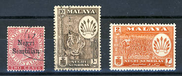 Briefmarken Malaysia Negri Sembilan