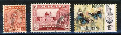 Briefmarken Malaysia Pahang
