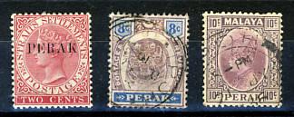 Briefmarken Malaysia Perak
