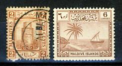 Briefmarken Malediven