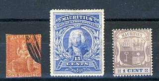 Briefmarken Mauritius