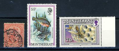 Briefmarken Montserrat