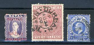 Briefmarken Natal