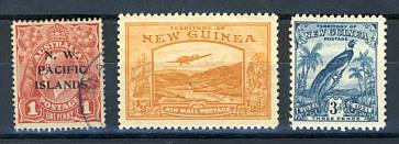 Briefmarken Neuguinea