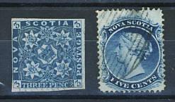 Briefmarken Neuschottland