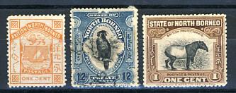 Briefmarken Nordborneo