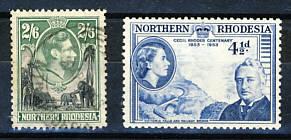 Briefmarken Nordrhodesien