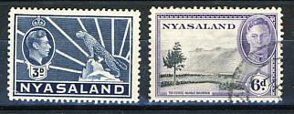 Briefmarken Nyasaland