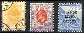 Briefmarken Oranje Freistaat