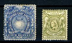 Briefmarken Ostafrika