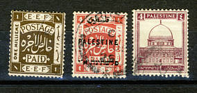 Briefmarken Palästina